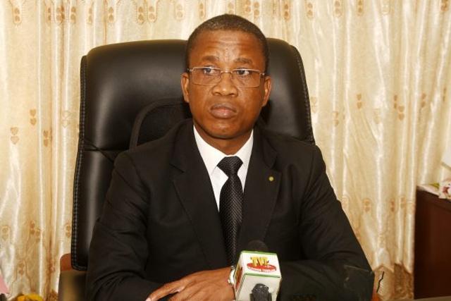 Le ministre de la culture Kossivi Egbetonyo
