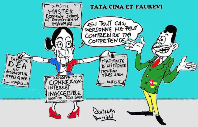 A partir des caricatures originales de Donisen Donald / Liberté