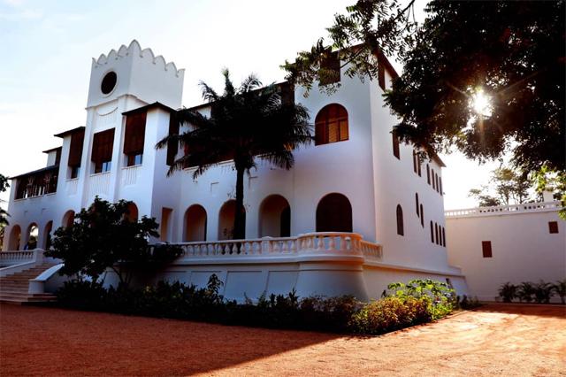 Vue du Palais de Lomé.