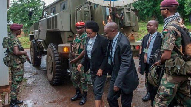 Des membres de la Cour constitutionnelle de Malawi protégés par l'Armée | Photo : The Hill