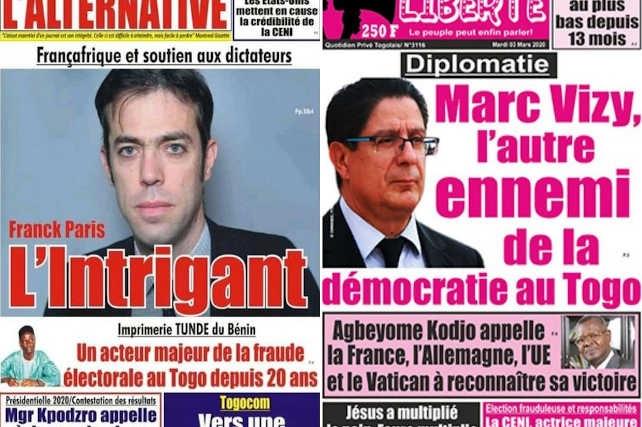 Des articles valant la suspension des journaux « L'Alternative » et « Liberté » | Infog : Fraternité