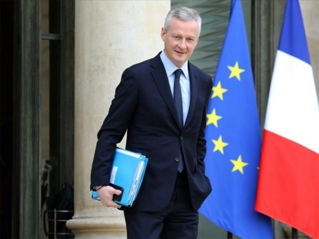© Autre presse par DR Le ministre français des Finances, Bruno Le Maire