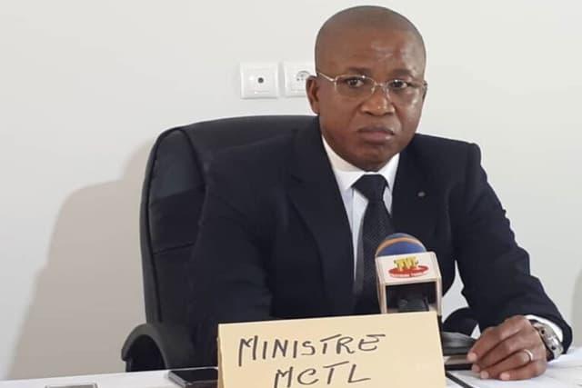 Le ministre Kossivi Agbetognon