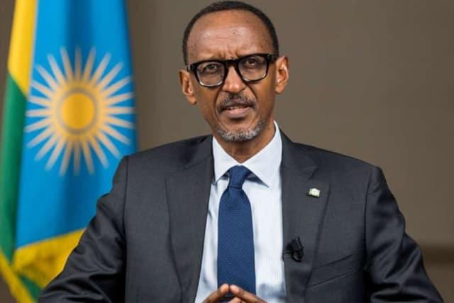 Le dictateur rwandais Paul Kagame