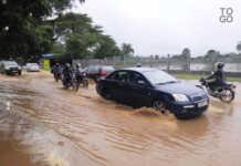 Route Lomé-Kpalimé après une petite pluie à Lomé | Archives : RT
