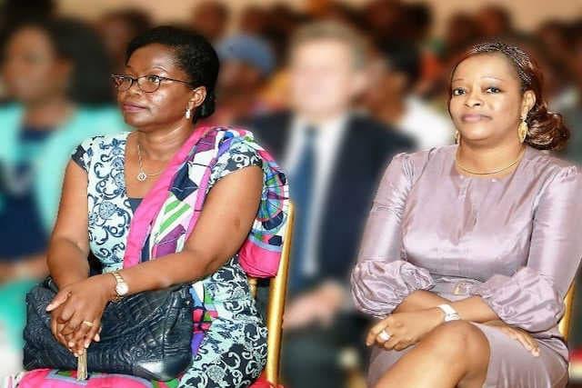 La Togolaise Victoire Tomegah Dogbé (g) et la Béninoise Reckya Madougou | Photo : DR / Fraternité
