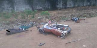 Corps des deux victimes abattues en toute impunité par la police | Photo : DR