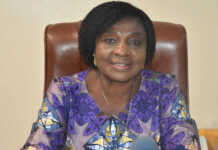 La ministre de l'Action sociale, Tchabinandi Kolani-Yentchare | Photo : DR