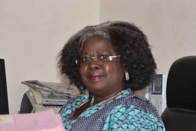 Victoire Tchamdja Kpatcha de la DSNIC