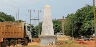 Route Lomé-Vogan-Anfoin : Le carrefour Yesuvito à Vogan   Photo : DR / Le Correcteur