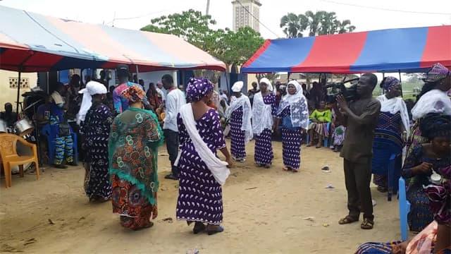 Une cérémonie de mariage coutumier au Togo (Illustration)