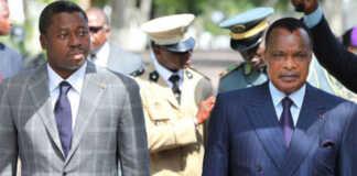 Voici deux membres du sale club des autocrates africains : Le Togolais Faure Essozimna Gnassingbé (g) et le Congolais Denis Sassou N'Guesso | Photo : DR