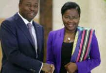 Faure Gnassingbé et Victoire Tomegah Dogbé | Photo : DR