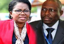 La PM Victoire Tomegah-Dogbé et son DC Pré Symfeitcheou | Infog : Fraternité